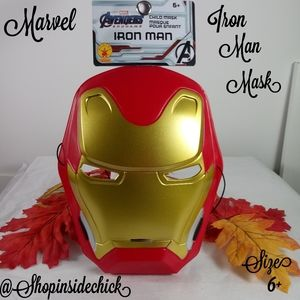 🍓$5 Marvel Avengers Iron Man Mask NEW Kids Ages 6